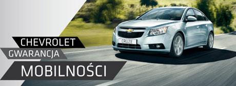 Chevrolet Gwarancja Mobilności